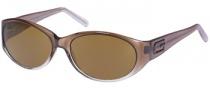 Guess GU 6448P Sunglasses Sunglasses - BRN-1: BRN / BRN LENS