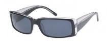 Guess GU 6457 Sunglasses Sunglasses - BLK-3: BLK / GRY LENS