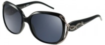 Guess GU 6527 Sunglasses Sunglasses - BLK-3: Black / Gray Lens