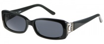 Guess GU 6530 Sunglasses Sunglasses - BLK-3: Black / Gray Lens