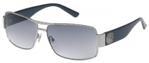 Guess GU 6560 Sunglasses Sunglasses - SI-48: Silver / Blue Gradient