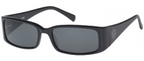 Guess GU 6572 Sunglasses Sunglasses - BLK-3: Black / Gray Lens