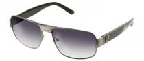 Guess GU 6615 Sunglasses Sunglasses - GUN-35: Satin Gunmetal