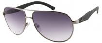 Guess GU 6617 Sunglasses Sunglasses - GUN-35: Gunmetal