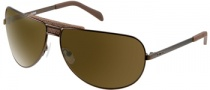 Guess GU 6620 Sunglasses Sunglasses - BRN-1: Satin Brown
