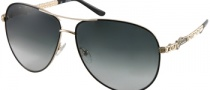 Guess GU 7032 Sunglasses Sunglasses - BLK-35: Black / Gold