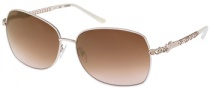 Guess GU 7033 Sunglasses Sunglasses - BE-34: Beige / Gold