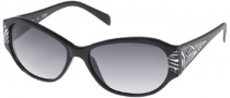 Guess GU 7054 Sunglasses Sunglasses - BLKZB-35: Black Zebra