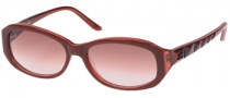 Guess GU 7062 Sunglasses Sunglasses - BU-52: Burgundy