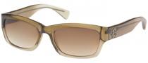 Guess GU 7065 Sunglasses Sunglasses - BRN-34: TRNSLCNT BRN