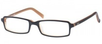 Guess GU 1301 Eyeglasses Eyeglasses - BLK / HNY: Black Over Brown