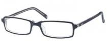 Guess GU 1301 Eyeglasses Eyeglasses - BLKCRY: Black / Crystal