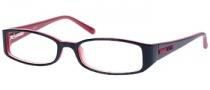 Guess GU 1393 Eyeglasses Eyeglasses - BLKRD: Black On Red