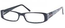 Guess GU 1478 Eyeglasses Eyeglasses - BLK: Black