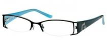 Guess GU 1519 Eyeglasses Eyeglasses - BLK: Black