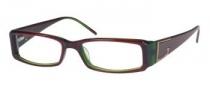 Guess GU 1529 Eyeglasses Eyeglasses - PLGRN: Plum / Green