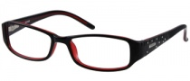 Guess GU 1564 Eyeglasses Eyeglasses - BLKRD: Black / Red