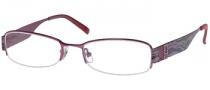 Guess GU 1584ST Eyeglasses Eyeglasses - BER: Berry