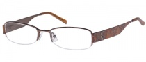 Guess GU 1584ST Eyeglasses Eyeglasses - BRN: Brown