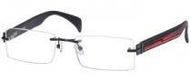 Guess GU 1600 Eyeglasses Eyeglasses - BLK: Black