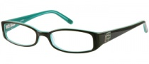 Guess GU 1685 Eyeglasses Eyeglasses - BRN: Brown Over Teal