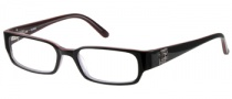 Guess GU 1686 Eyeglasses Eyeglasses - BLKRD: Black Over Red