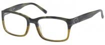 Guess GU 1687 Eyeglasses Eyeglasses - GRNBRN: GRNHRN / Brown