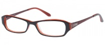 Guess GU 2203 Eyeglasses Eyeglasses - BLKRD: Black