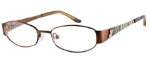 Guess GU 9053 Eyeglasses Eyeglasses - BRN: Satin Brown