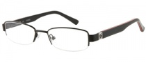 Guess GU 9060 Eyeglasses Eyeglasses - BLK: Black Satin
