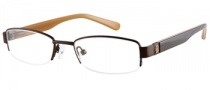 Guess GU 9060 Eyeglasses Eyeglasses - BRN: Brown Satin
