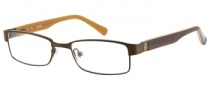 Guess GU 9061 Eyeglasses Eyeglasses - BRN: Brown Satin