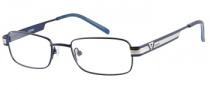 Guess GU 9062 Eyeglasses Eyeglasses - BL: Satin Navy Blue