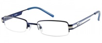 Guess GU 9063 Eyeglasses Eyeglasses - BL: Satin Navy Blue