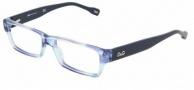 DG DD 1203 Eyeglasses Eyeglasses - 1769 Azure / Blue Demo Lens