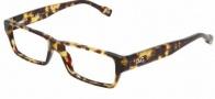 DG DD 1203 Eyeglasses Eyeglasses - 814 Dark Havana / Demo Lens