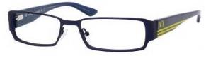 Armani Exchange 147 Eyeglasses Eyeglasses - 0HF5 Blue Matte