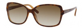 Kate Spade Ailey/S Sunglasses Sunglasses - 01S2 Demi Amber Orange / Y6 Brown Gradient Lens