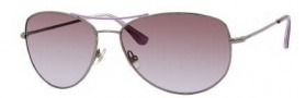 Kate Spade Ally 3/S Sunglasses Sunglasses - 0DX8 Purple Gunmetal / C0 Brown Lavender Lens