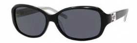 Kate Spade Annika/S Sunglasses Sunglasses - JBHP Black Silver Sparkle / RA Gray Polarized Lens