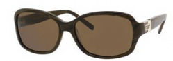 Kate Spade Annika/S Sunglasses Sunglasses - 1Q8P Brown Horn / VW Brown Polarized Lens