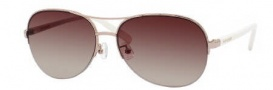 Kate Spade Brittany/S Sunglasses Sunglasses - 0I1L Rose Gold / Y6 Brown Gradient Lens