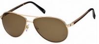 MontBlanc MB325S Sunglasses Sunglasses - 32E Rose Gold