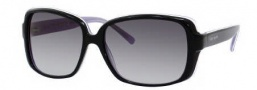 Kate Spade Darlene/S Suglasses Sunglasses - 0FT6 Black Amethyst / Y7 Gray Gradient Lens