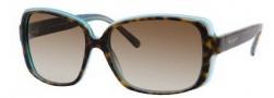 Kate Spade Darlene/S Suglasses Sunglasses - 0JEY Tortoise Aqua / Y6 Brown Gradient Lens