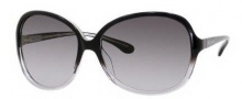 Kate Spade Gabi/S Sunglasses Sunglasses - 0FJ7 Black Gray Crystal / Y7 Gray Gradient Lnes
