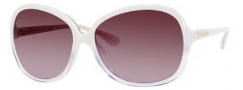 Kate Spade Gabi/S Sunglasses Sunglasses - 0FD4 Ivory Crsytal / Y6 Brown Gradient Lens