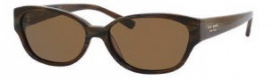Kate Spade Halle/P/S Sunglasses Sunglasses - FA6P Brown Horn / VW Brown Polarized Lens