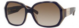 Kate Spade Jocelyn/S Sunglasses Sunglasses - 0EM5 Purple Tortosie / Y6 Brown Gradient Lens