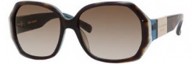 Kate Spade Jocelyn/S Sunglasses Sunglasses - 0EM8 Tortoise Turquoise / Y6 Brown Gradient Lens